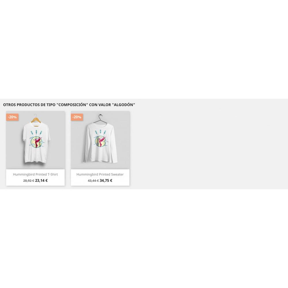 module - Ventas cruzadas y Packs de productos - Slider Productos Relacionados Pro - 11
