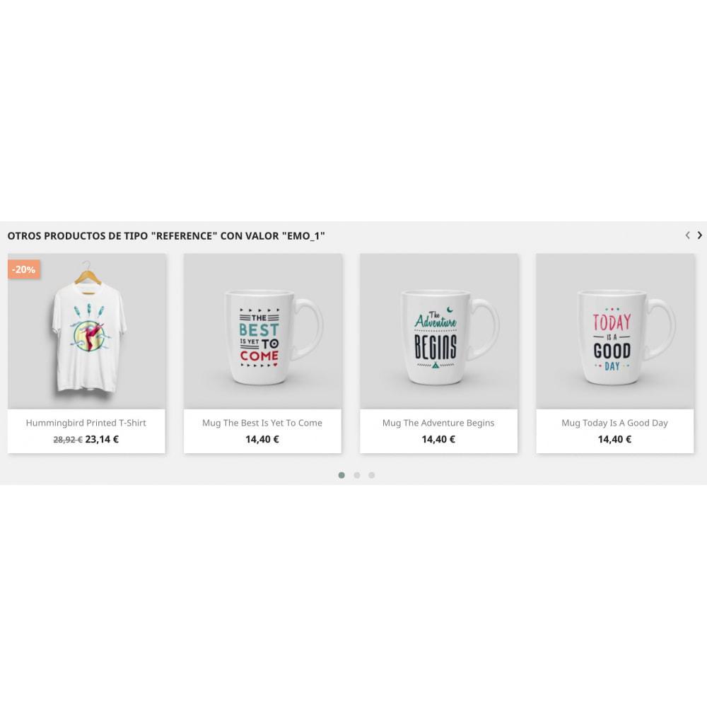 module - Ventas cruzadas y Packs de productos - Slider Productos Relacionados Pro - 13