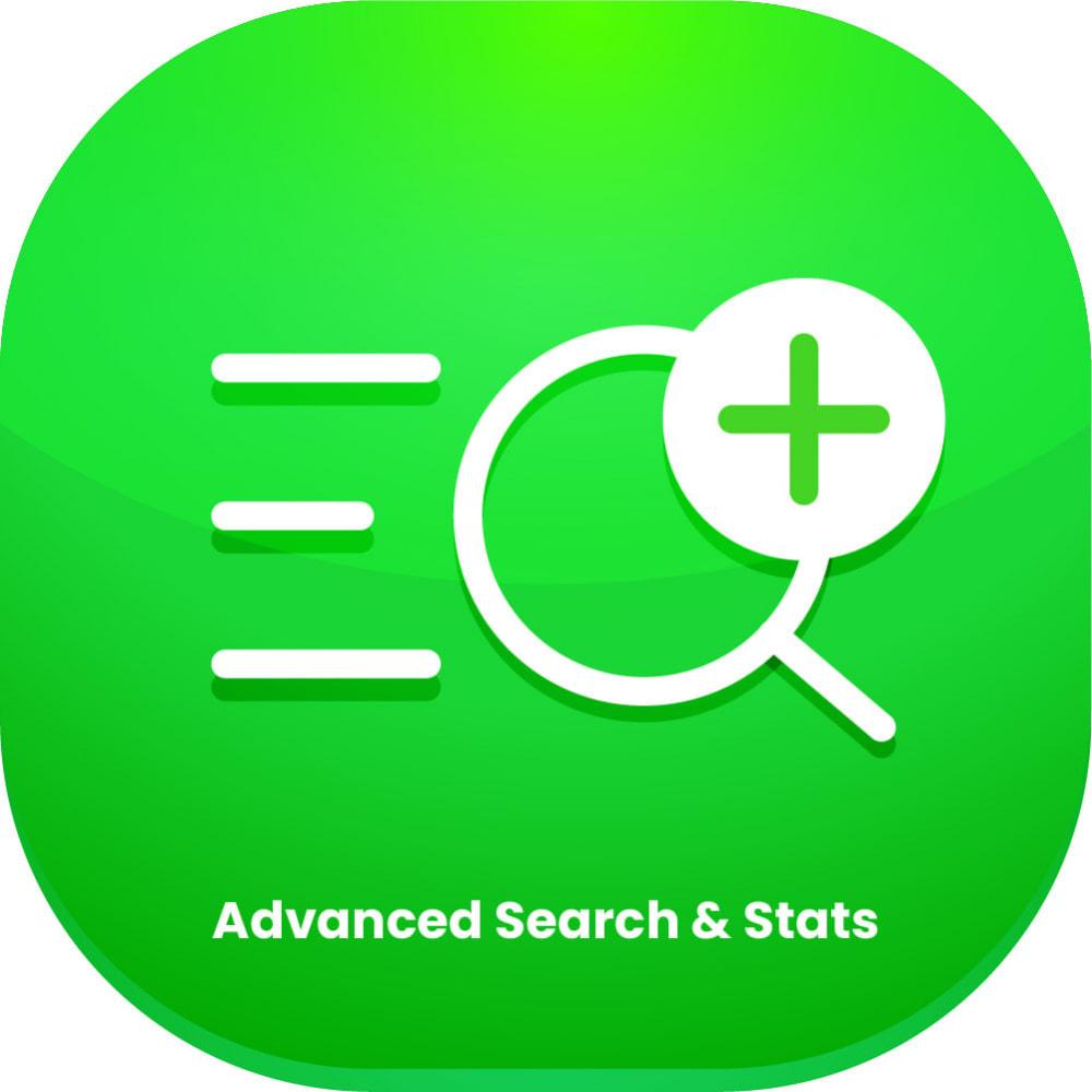 module - Suche & Filter - Advanced Search And Stats Module - 1