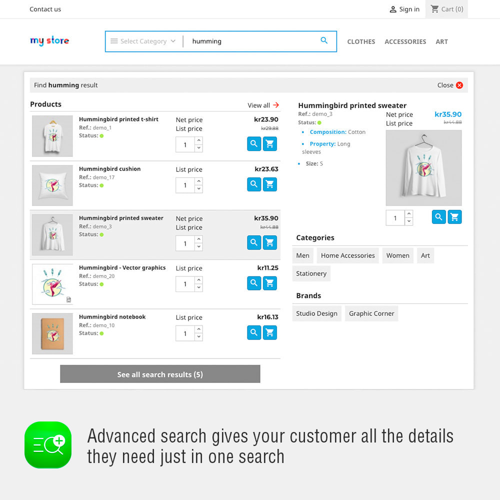 module - Suche & Filter - Advanced Search And Stats Module - 2
