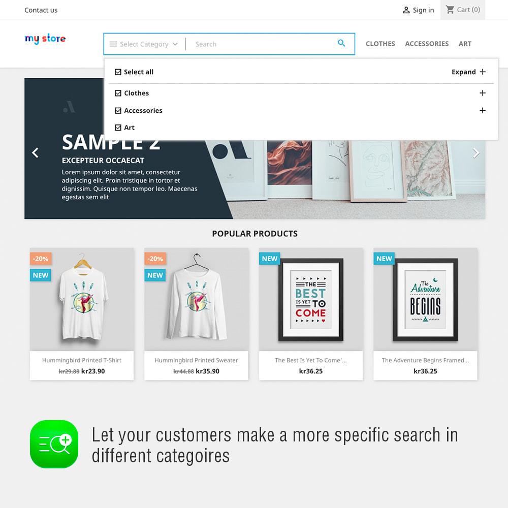 module - Suche & Filter - Advanced Search And Stats Module - 3
