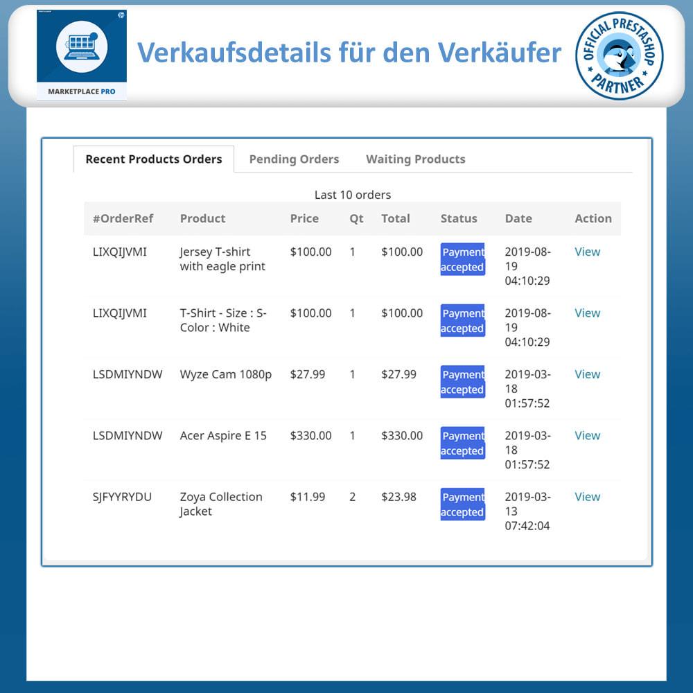 module - Marketplace Erstellen - Multi Vendor Marketplace  - Marketplace Pro - 7