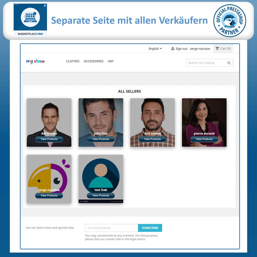 module - Marketplace Erstellen - Multi Vendor Marketplace  - Marketplace Pro - 3