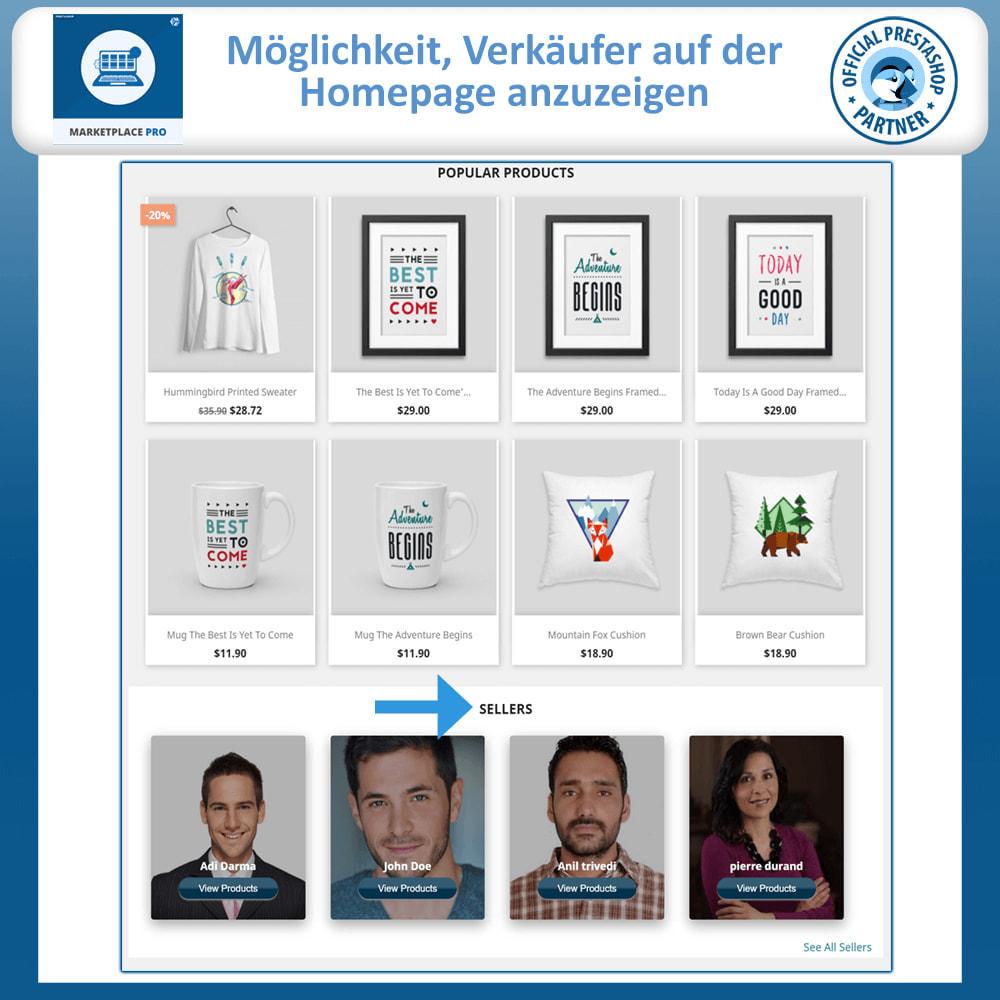 module - Marketplace Erstellen - Multi Vendor Marketplace  - Marketplace Pro - 2