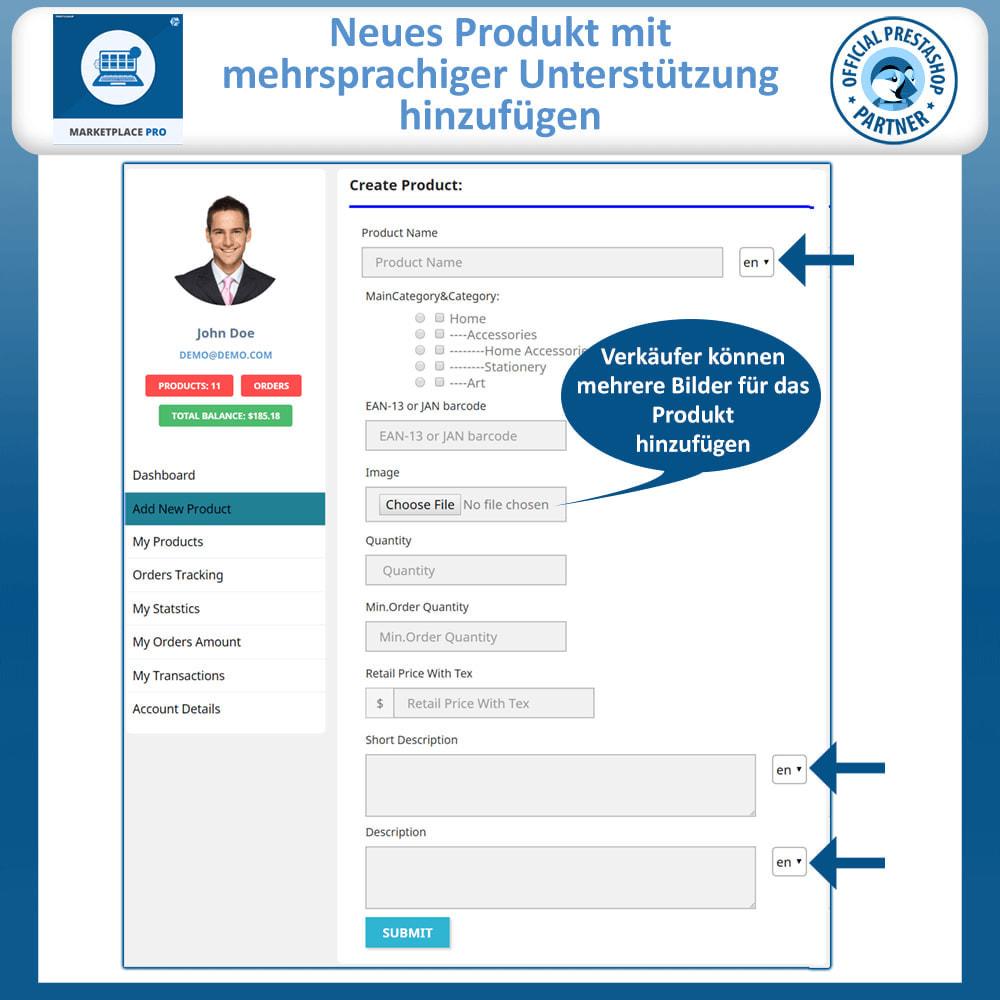 module - Marketplace Erstellen - Multi Vendor Marketplace  - Marketplace Pro - 9