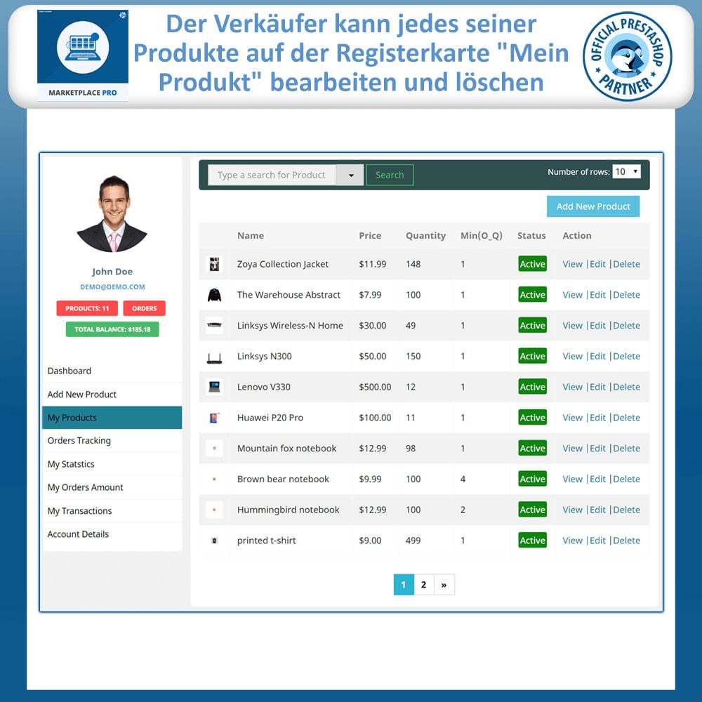 module - Marketplace Erstellen - Multi Vendor Marketplace  - Marketplace Pro - 11
