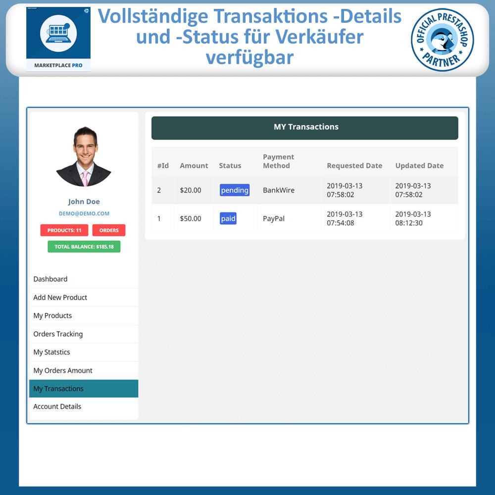 module - Marketplace Erstellen - Multi Vendor Marketplace  - Marketplace Pro - 12