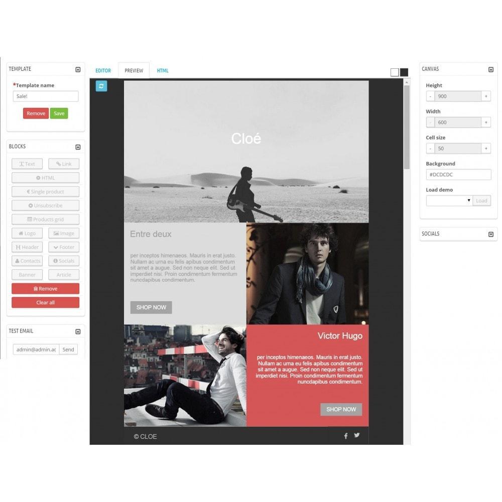 module - Newsletter & SMS - Custom Mailer SeoSA - Newslettera - 6