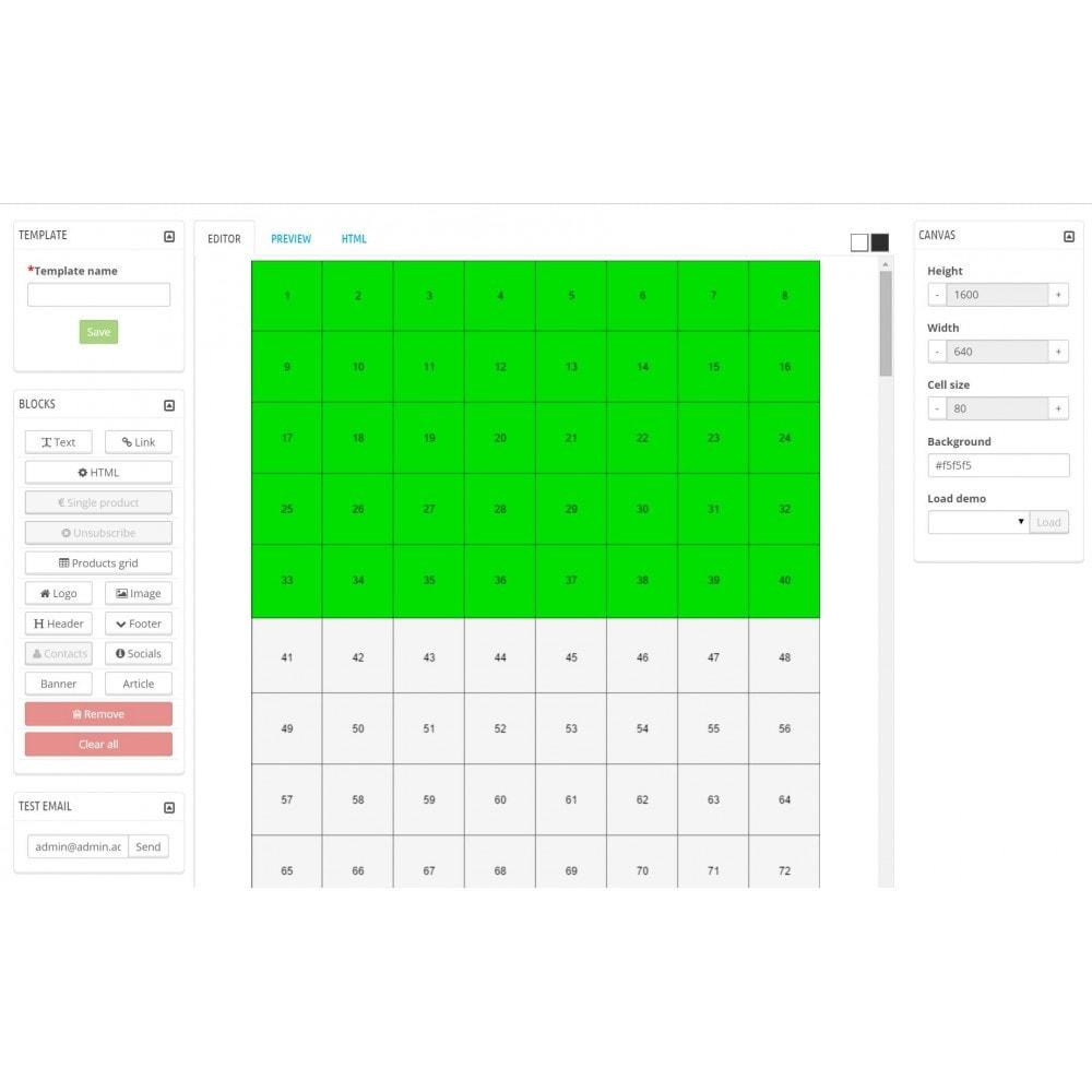 module - Newsletter & SMS - Custom Mailer SeoSA - Newslettera - 8