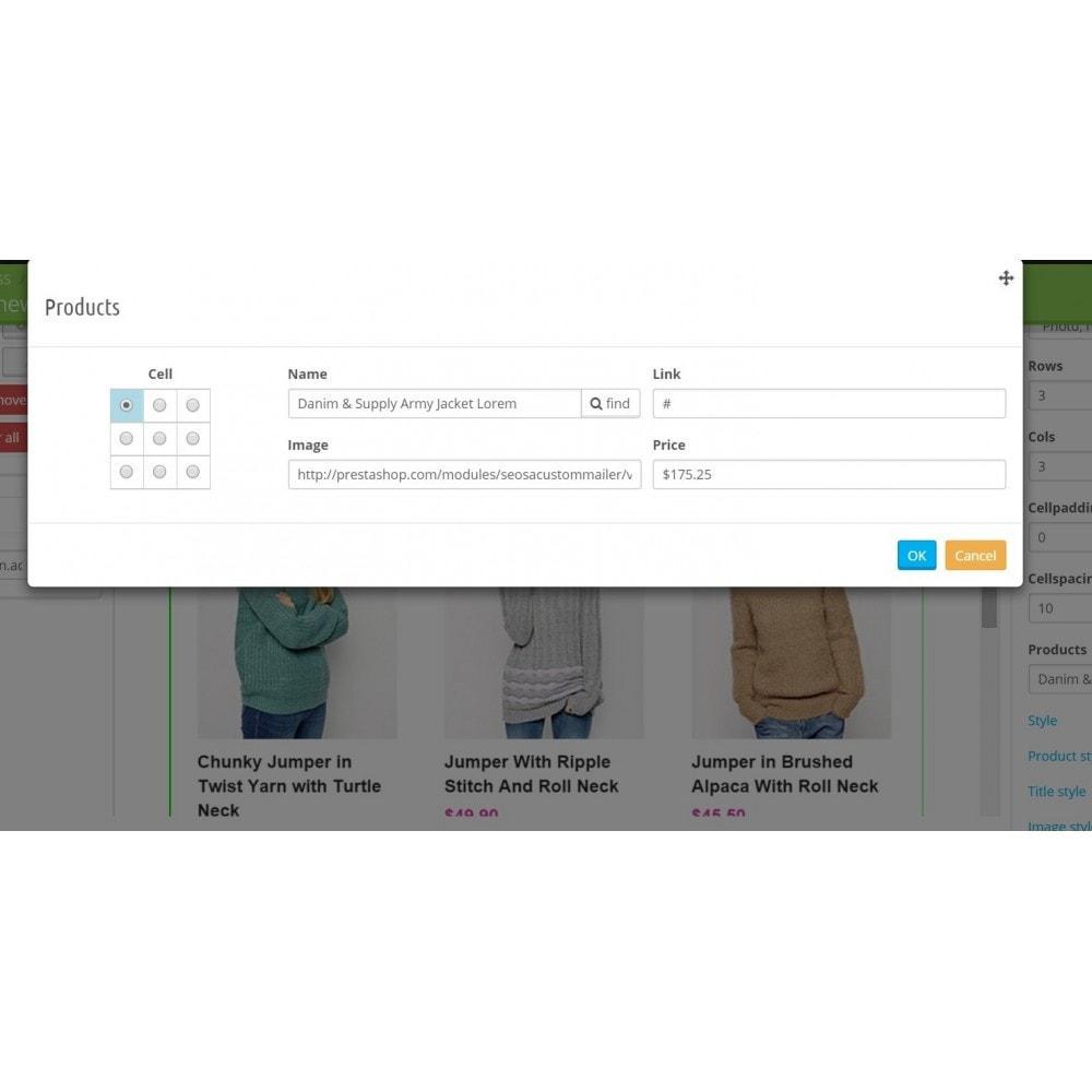 module - Newsletter & SMS - Custom Mailer SeoSA - Newslettera - 12
