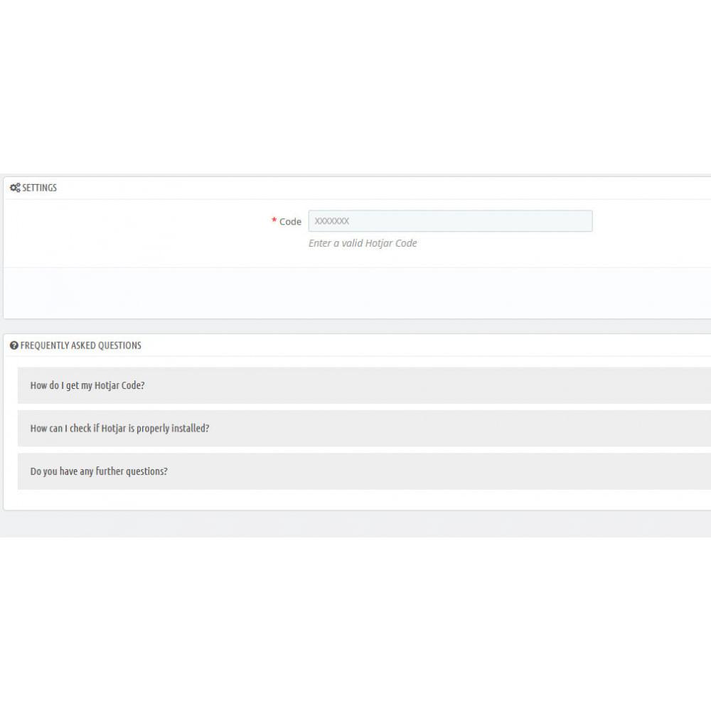 module - Analytics & Statistics - Hotjar Integration - 2