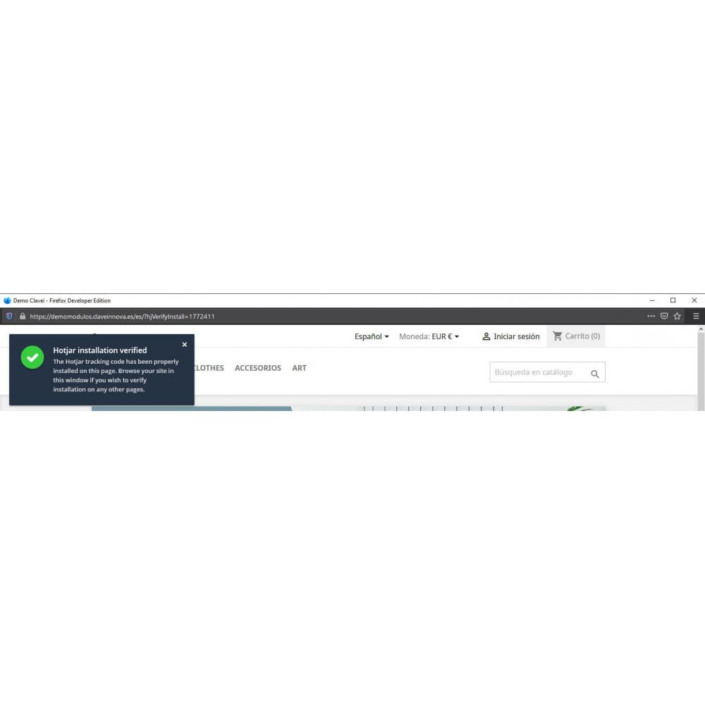 module - Analytics & Statistics - Hotjar Integration - 3