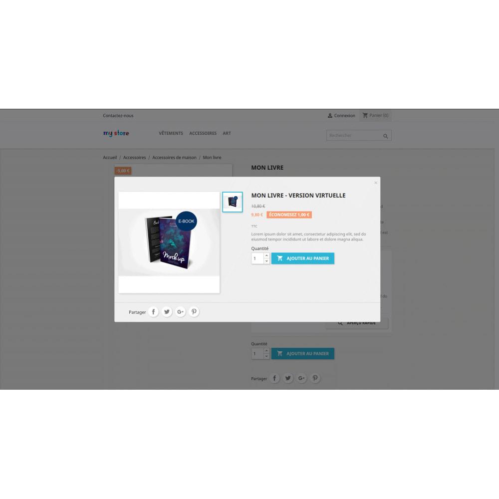 module - Produits virtuels (téléchargeables) - Simples Produits Liés - 2