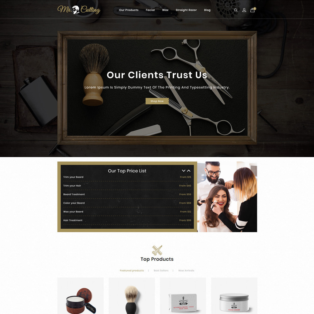 theme - Lingerie & Adulte - Mr.Cutting - Beauty Store - 2