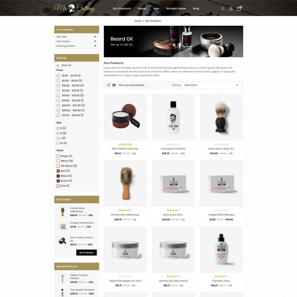 theme - Lingerie & Adulte - Mr.Cutting - Beauty Store - 3