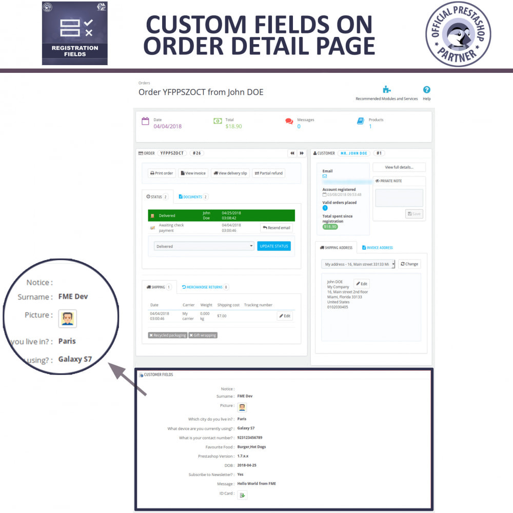 module - Registration & Ordering Process - Custom Registration Form - Add Registration Fields - 8