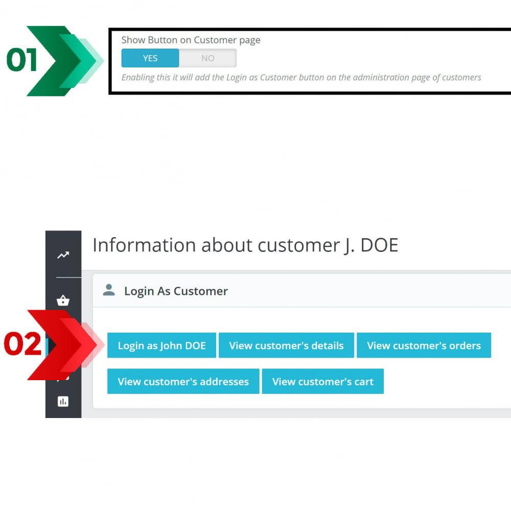 module - Login/Connessione - Login as customer PRO - 6