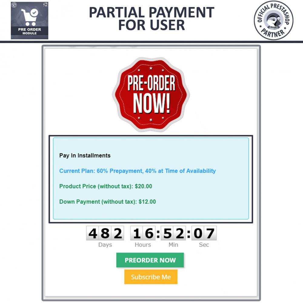 module - Cadastro e Processo de Pedido - Pre-Order - Advance Pre-Order Booking - 6
