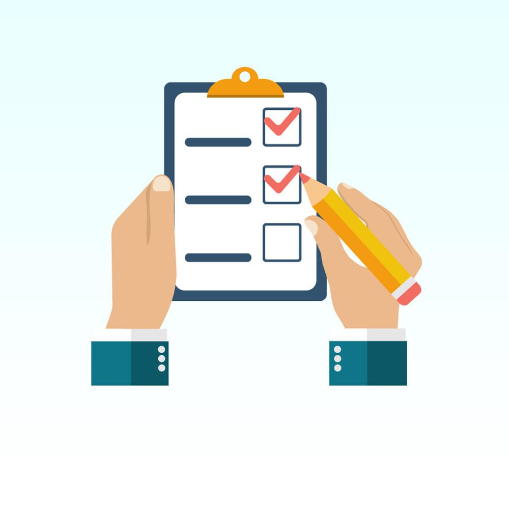 module - Formulário de contato & Pesquisas - Custom form / field on cms page - 1