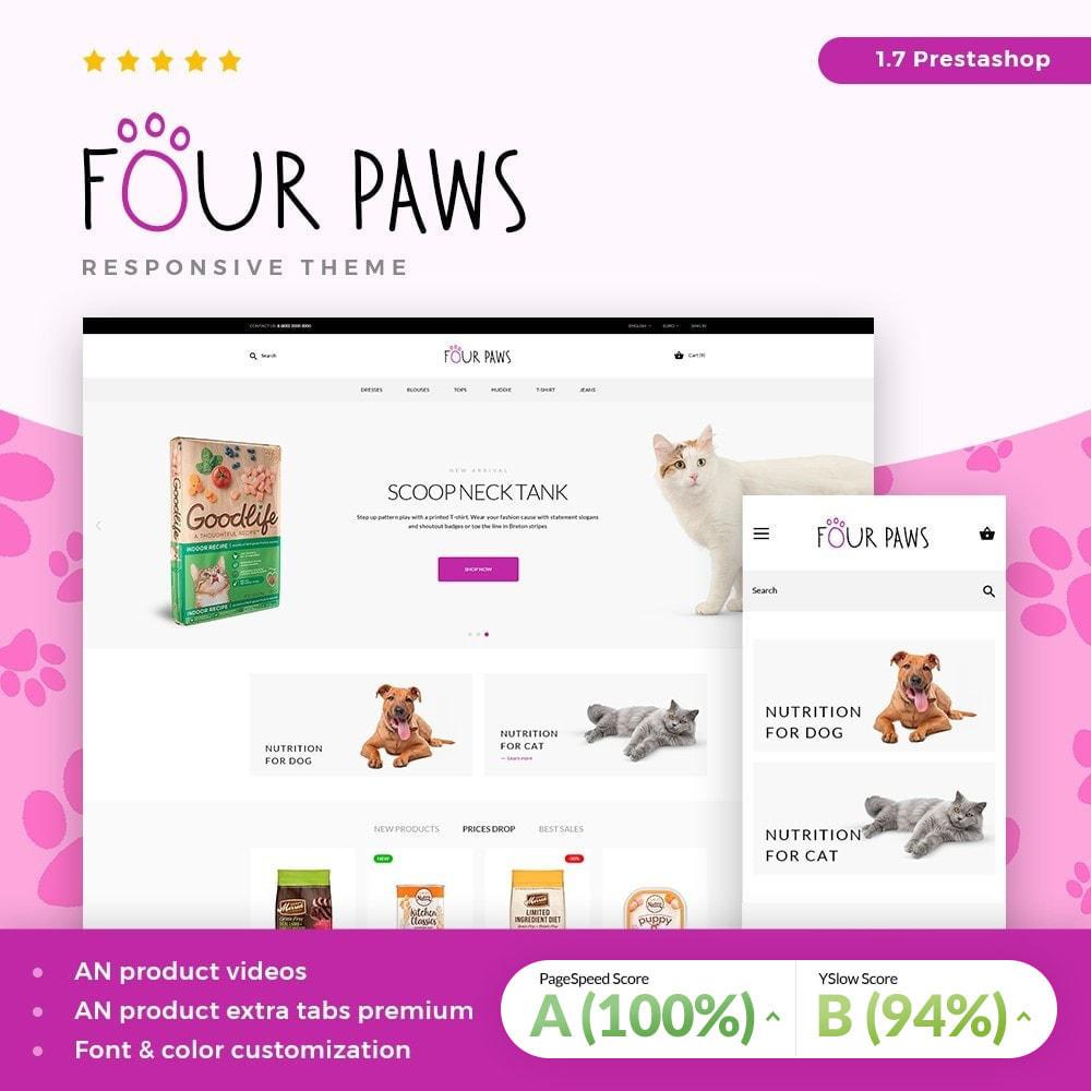 theme - Животные и домашние питомцы - Four paws - 2