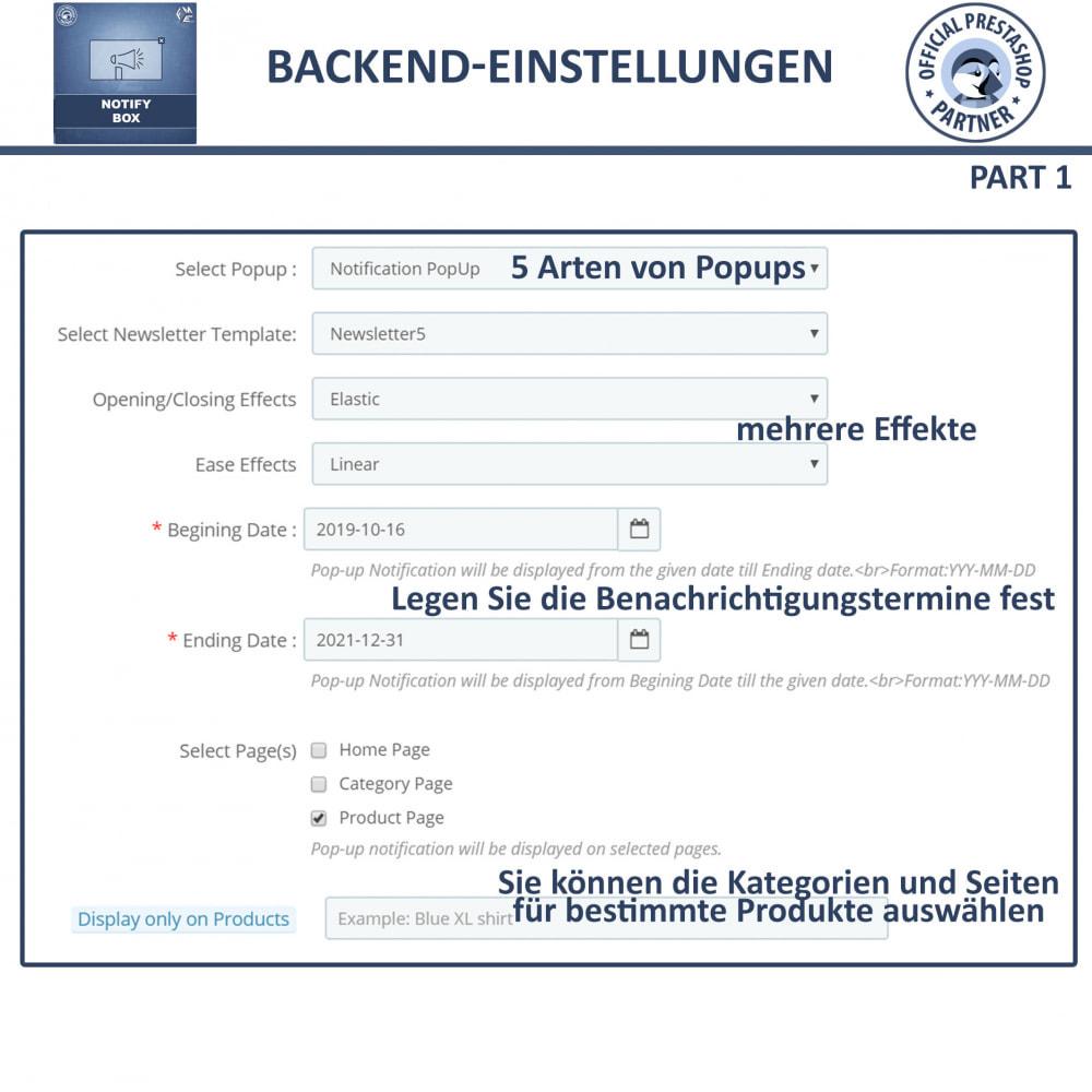 module - Pop-up - Popup-Promo und Benachrichtigung - 12