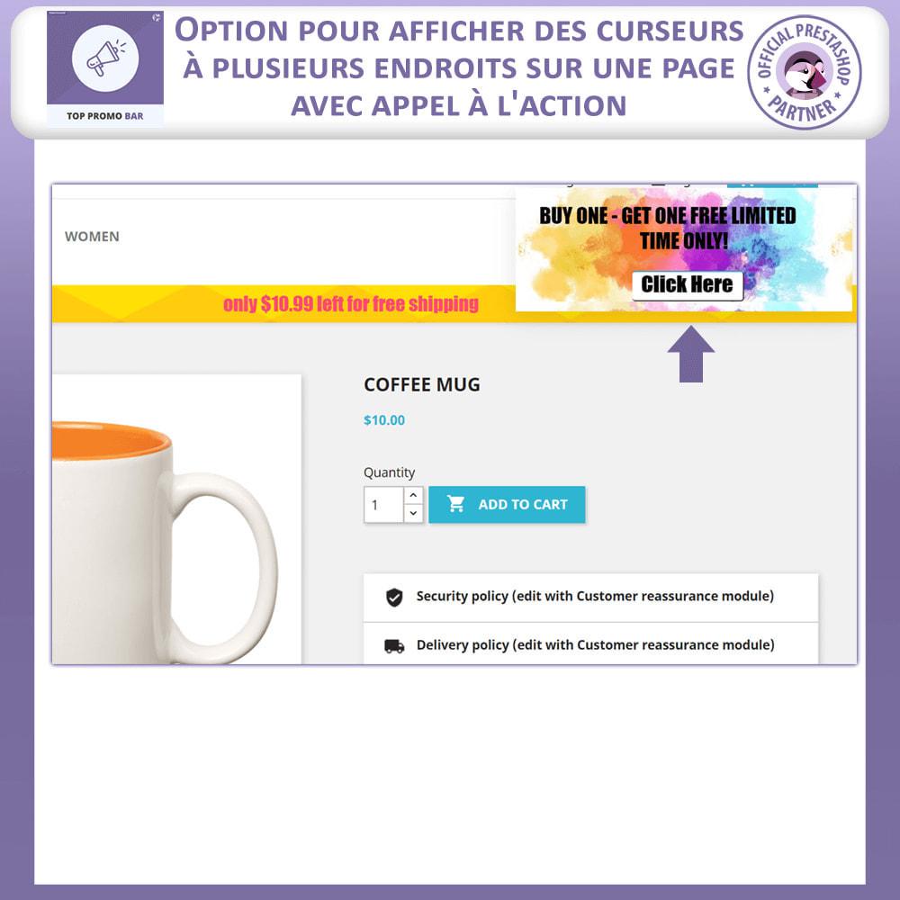 module - Blocs, Onglets & Bannières - Top Bannière Avancée - 5
