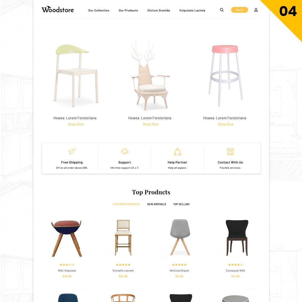 theme - Maison & Jardin - Wood - le magasin de meubles - 6