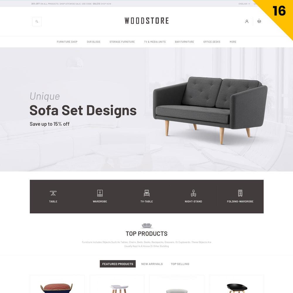 theme - Maison & Jardin - Wood - le magasin de meubles - 18