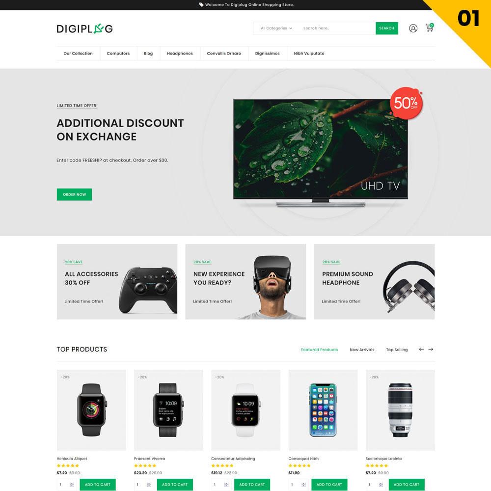 theme - Electrónica e High Tech - Digiplug - La mega tienda electrónica - 3