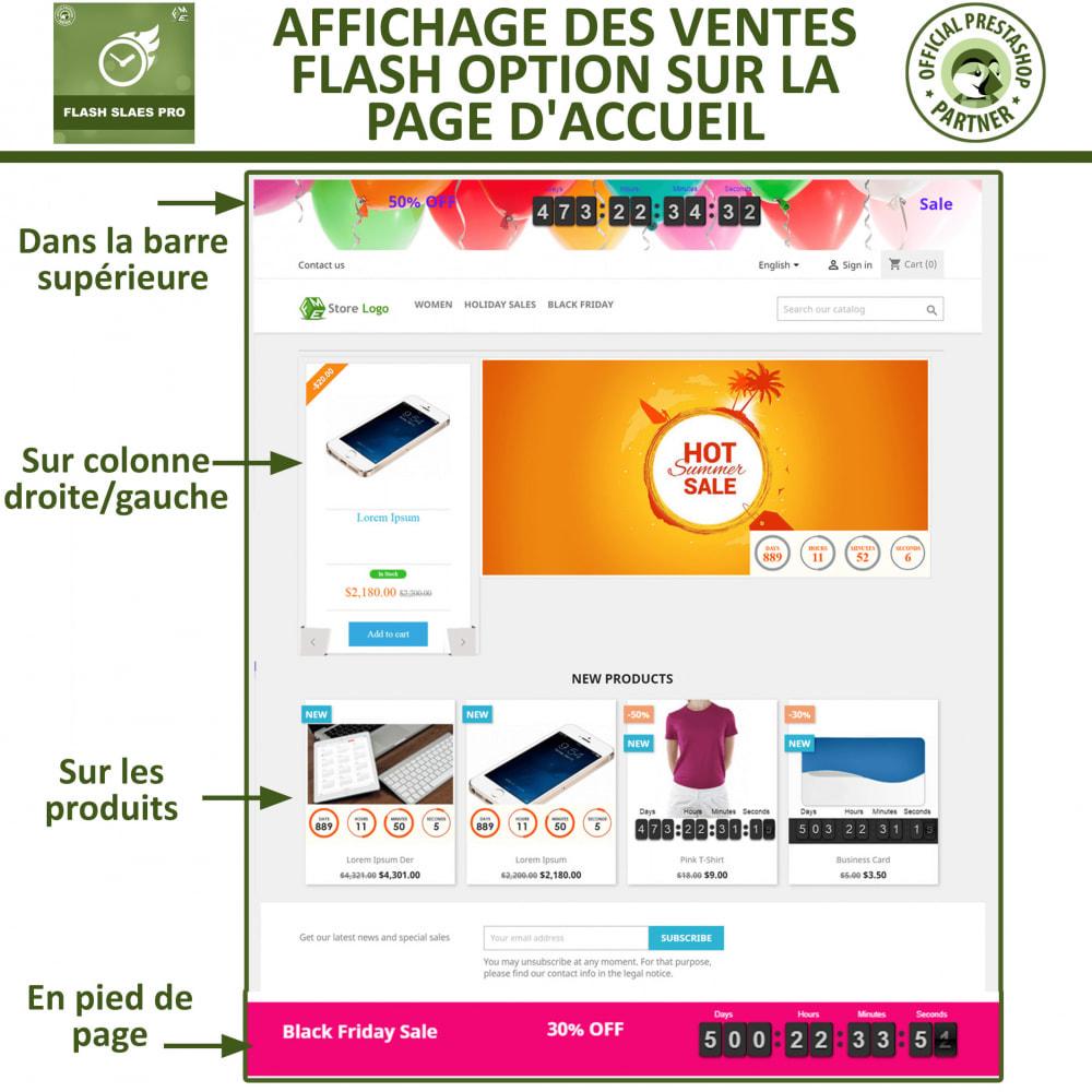 module - Ventes Flash & Ventes Privées - Flash Sales Pro - Remise avec compte à rebours - 2