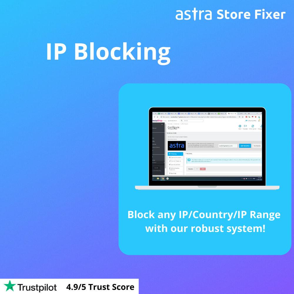 module - Security & Access - Store Fixer - Recaptcha, Block IPs, Content Security - 3