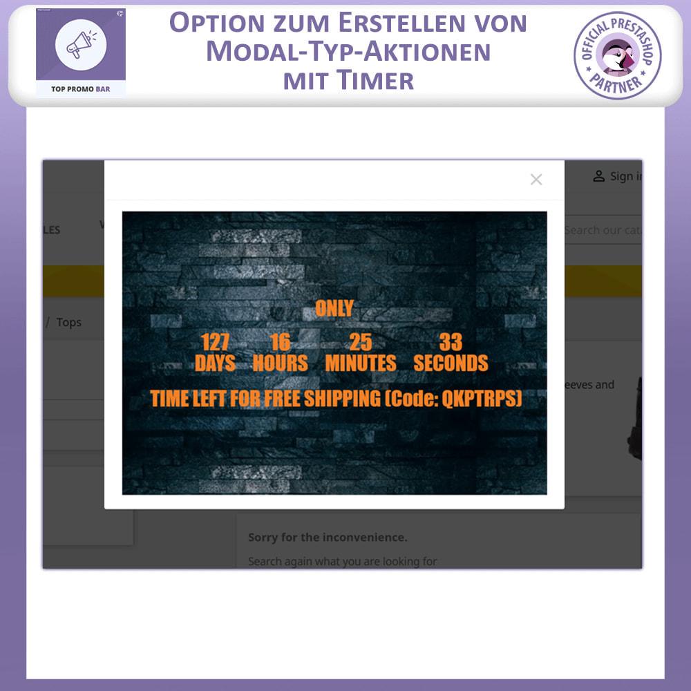 module - Blocks, Reiter & Banner - Top Banner Fortschritt - 6