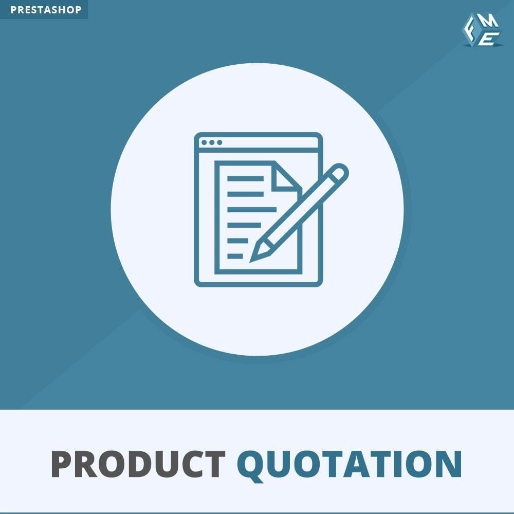 module - Angebotsmanagement - Produkt Zitat Modul - 1