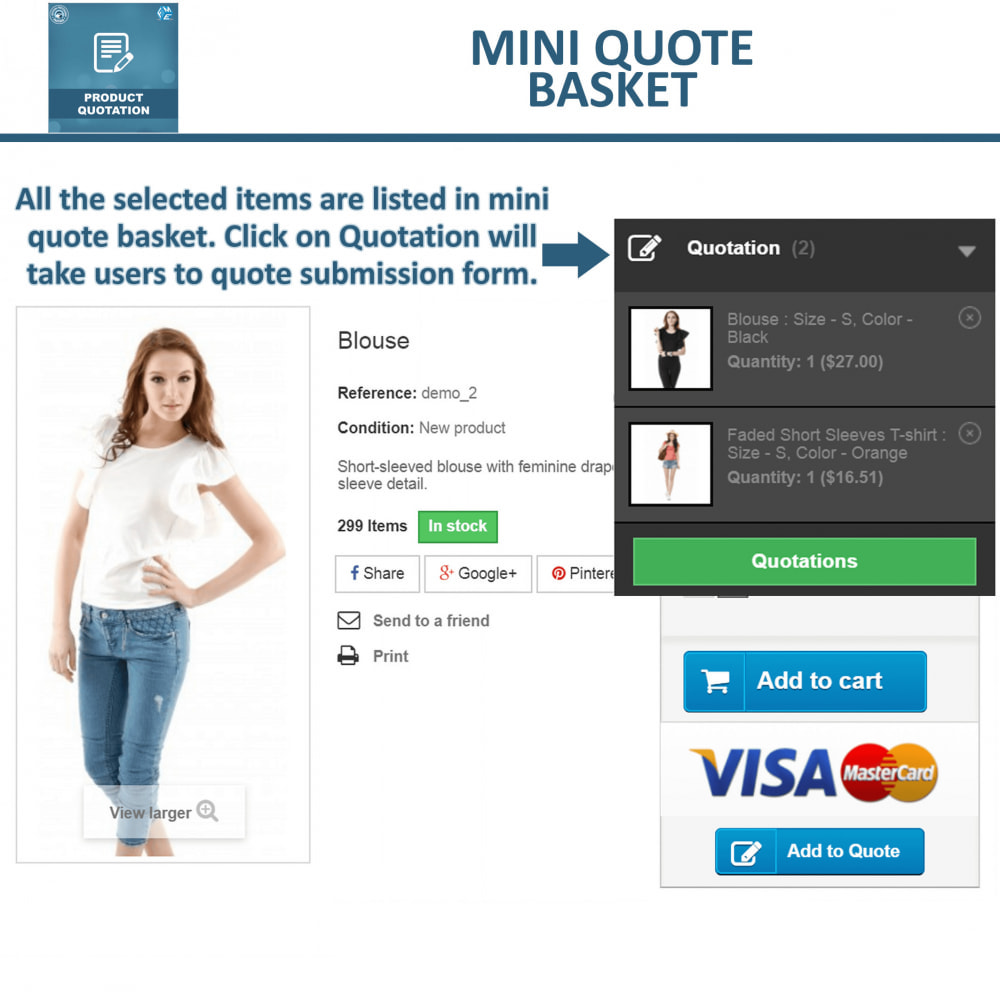 module - Quotes - Quotation - Allow Customer to Ask For Quote - 4