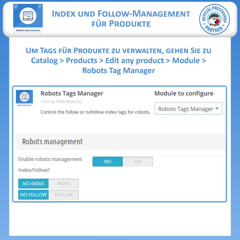module - SEO - Meta Robot Tags - NoFollow NoIndex Manager - 5