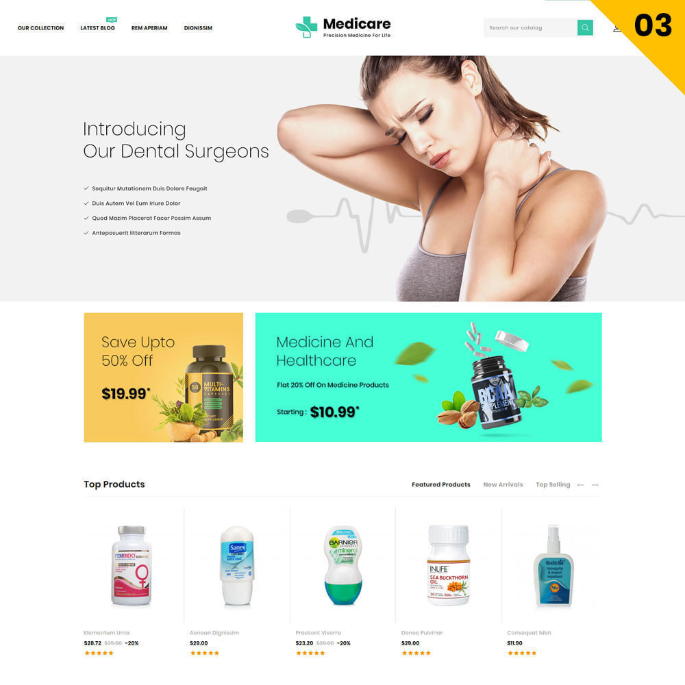 theme - Salute & Bellezza - Medicare - The Medical Store - 6