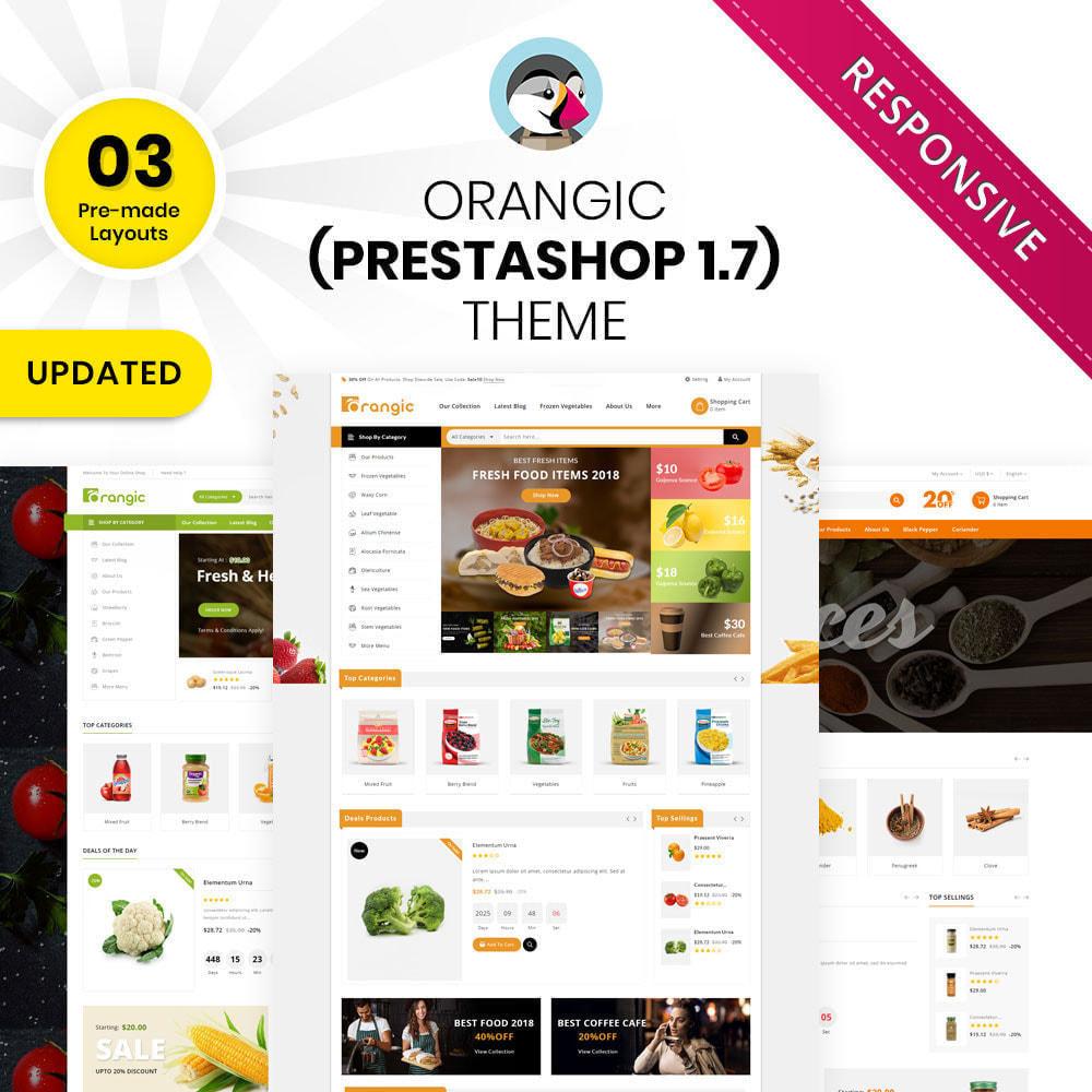 theme - Gastronomía y Restauración - Orangic - La tienda de alimentos - 1