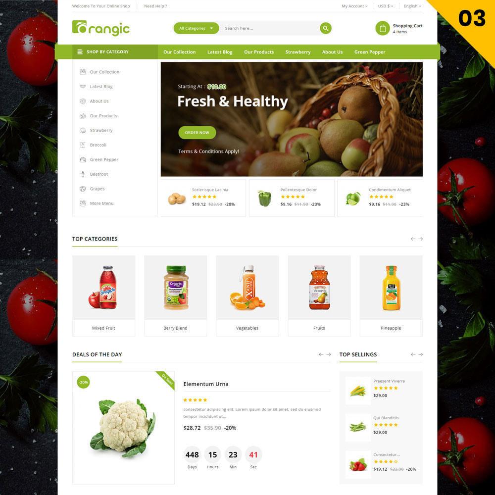 theme - Cibo & Ristorazione - Orangic - Il negozio di alimentari - 5