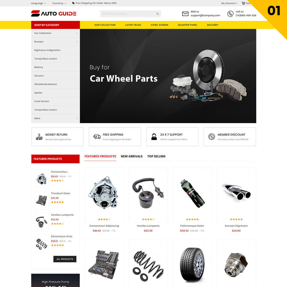 theme - Авто и Мото - Autoguide - The Mega Motor Store - 3