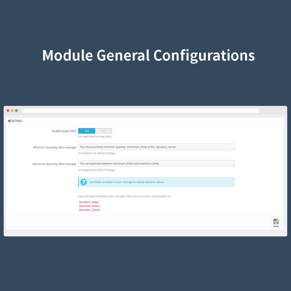 module - Anmeldung und Bestellvorgang - Order Quantity Limit - 2