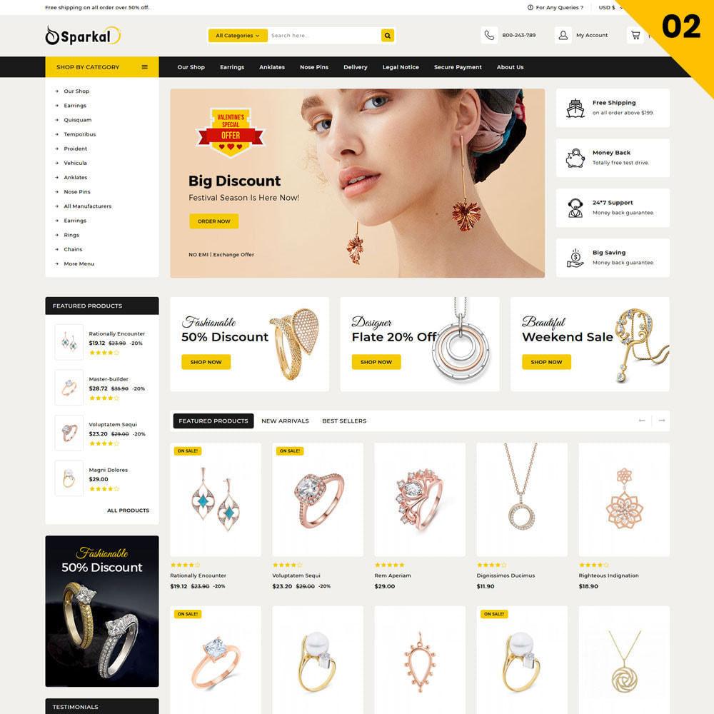 theme - Ювелирные изделия и Аксессуары - Sparkal - The Jewellery Shop - 4