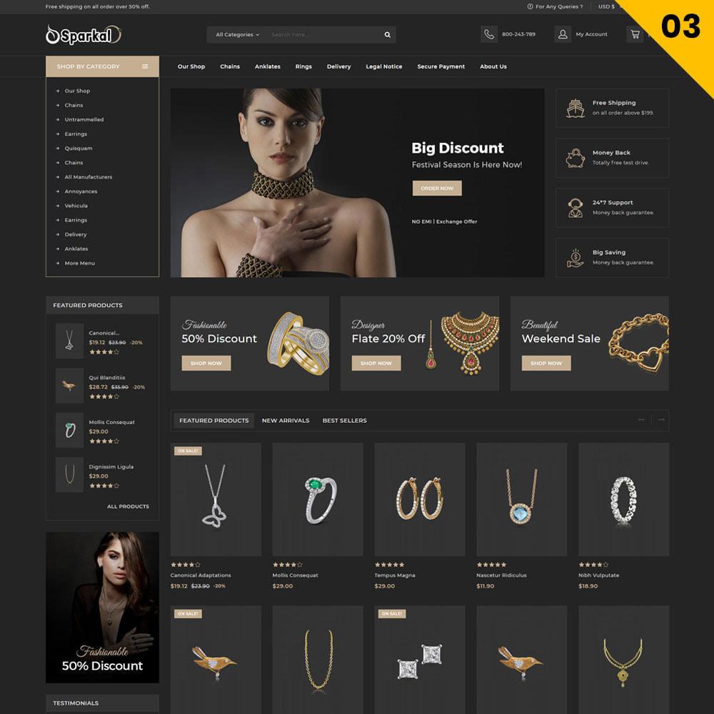 theme - Ювелирные изделия и Аксессуары - Sparkal - The Jewellery Shop - 5