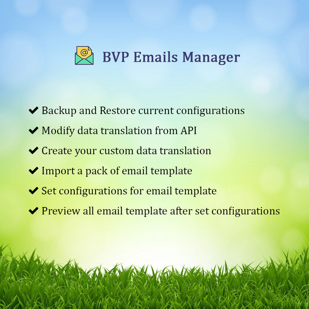 module - Email & Notifiche - BVP Email Templates Manager Pro - 1