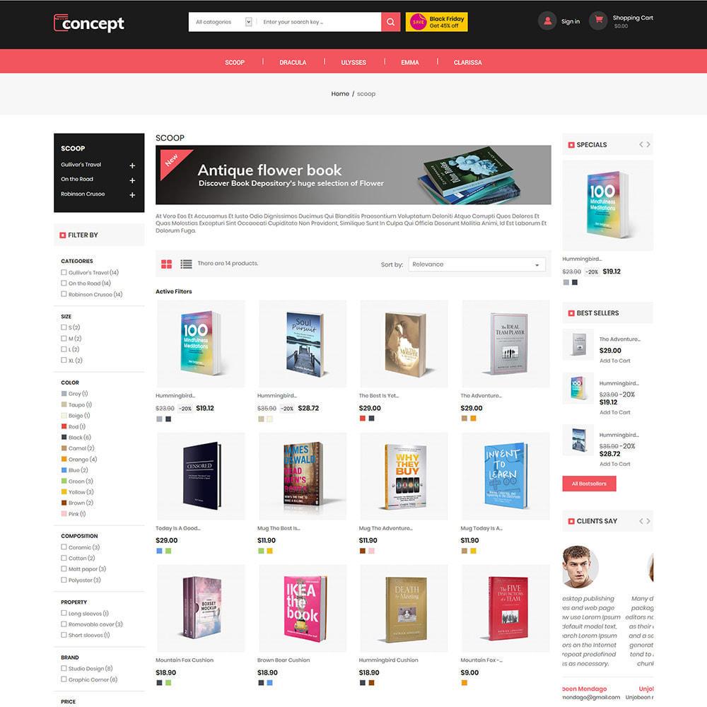 theme - Arte e Cultura - Concept  Ebook Library - Online  Book Store - 3