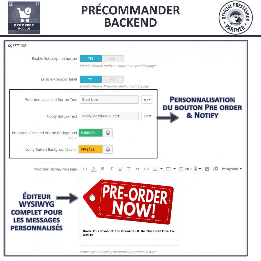 module - Inscription & Processus de commande - Pre-Order - Advance Booking | Out of Stock Selling - 14