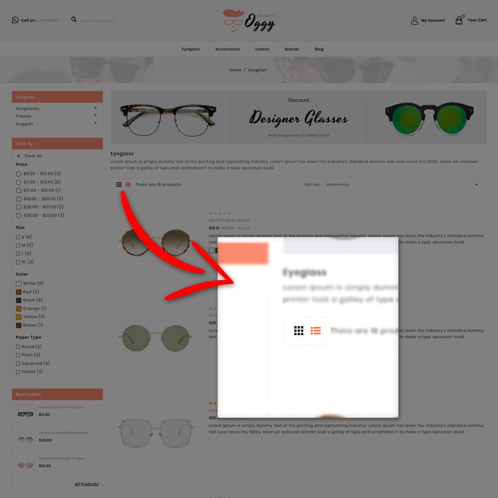 theme - Biżuteria & Akcesoria - Oggy - Opticals Shop - 6