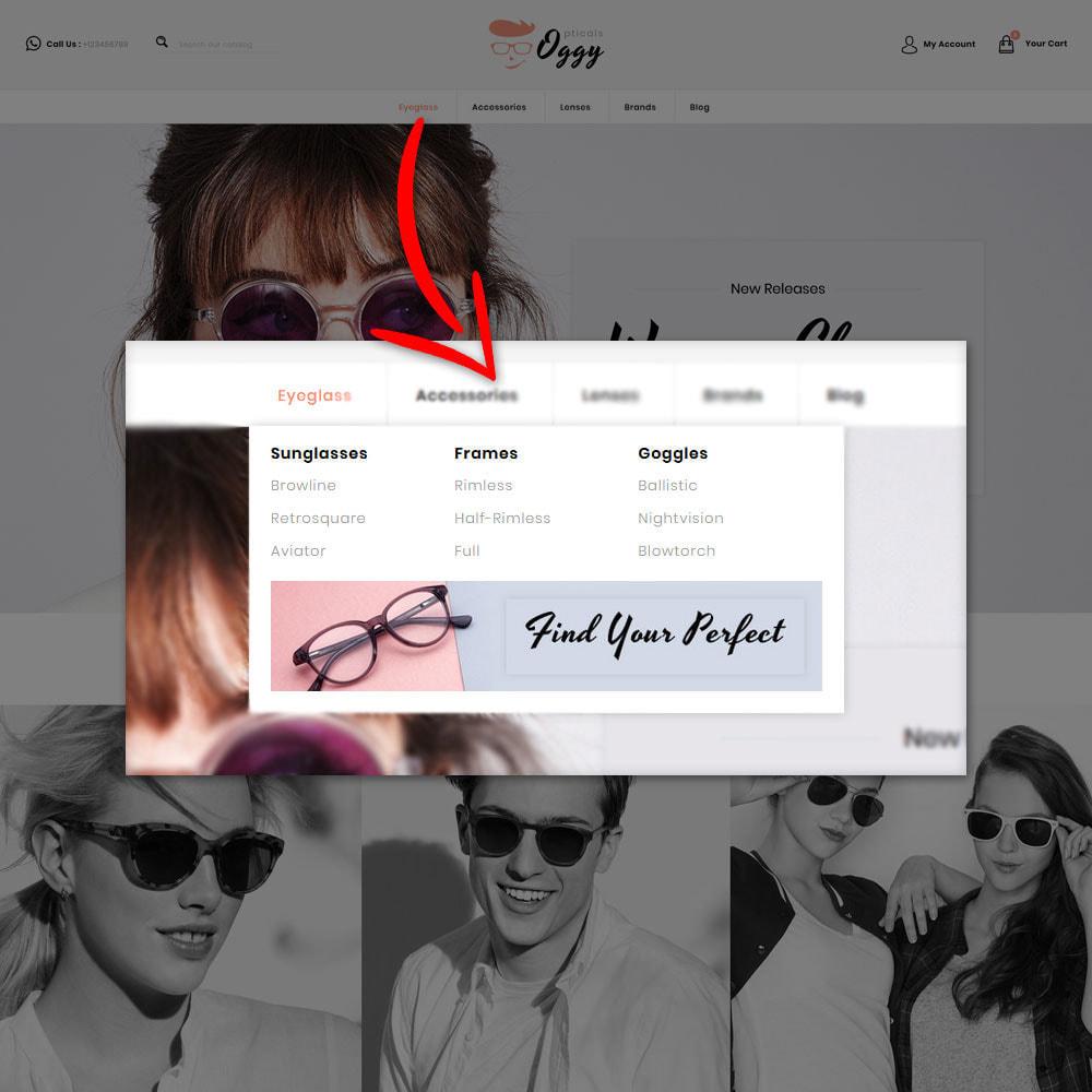 theme - Biżuteria & Akcesoria - Oggy - Opticals Shop - 9