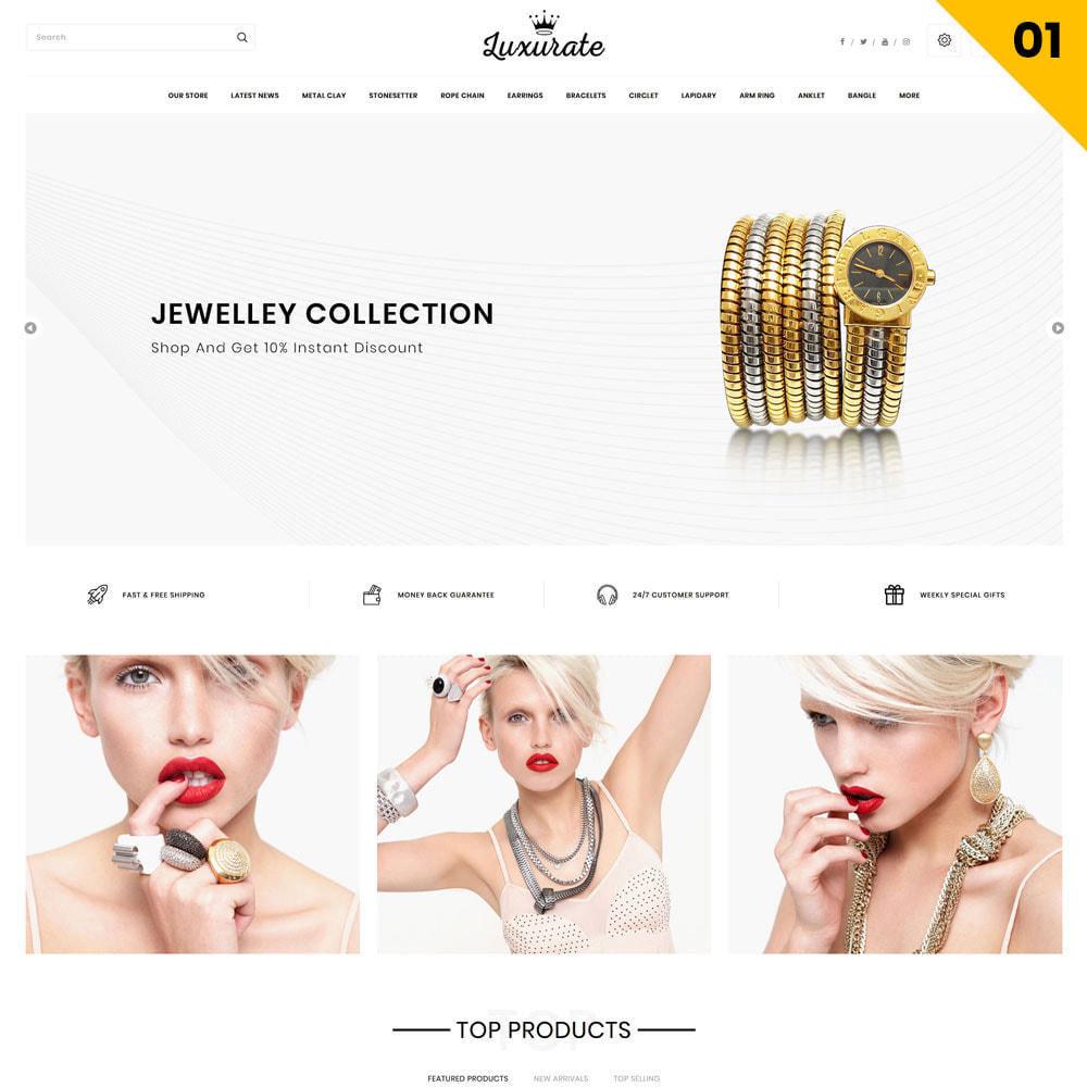 theme - Biżuteria & Akcesoria - Luxurate - The Jewelry Store - 3