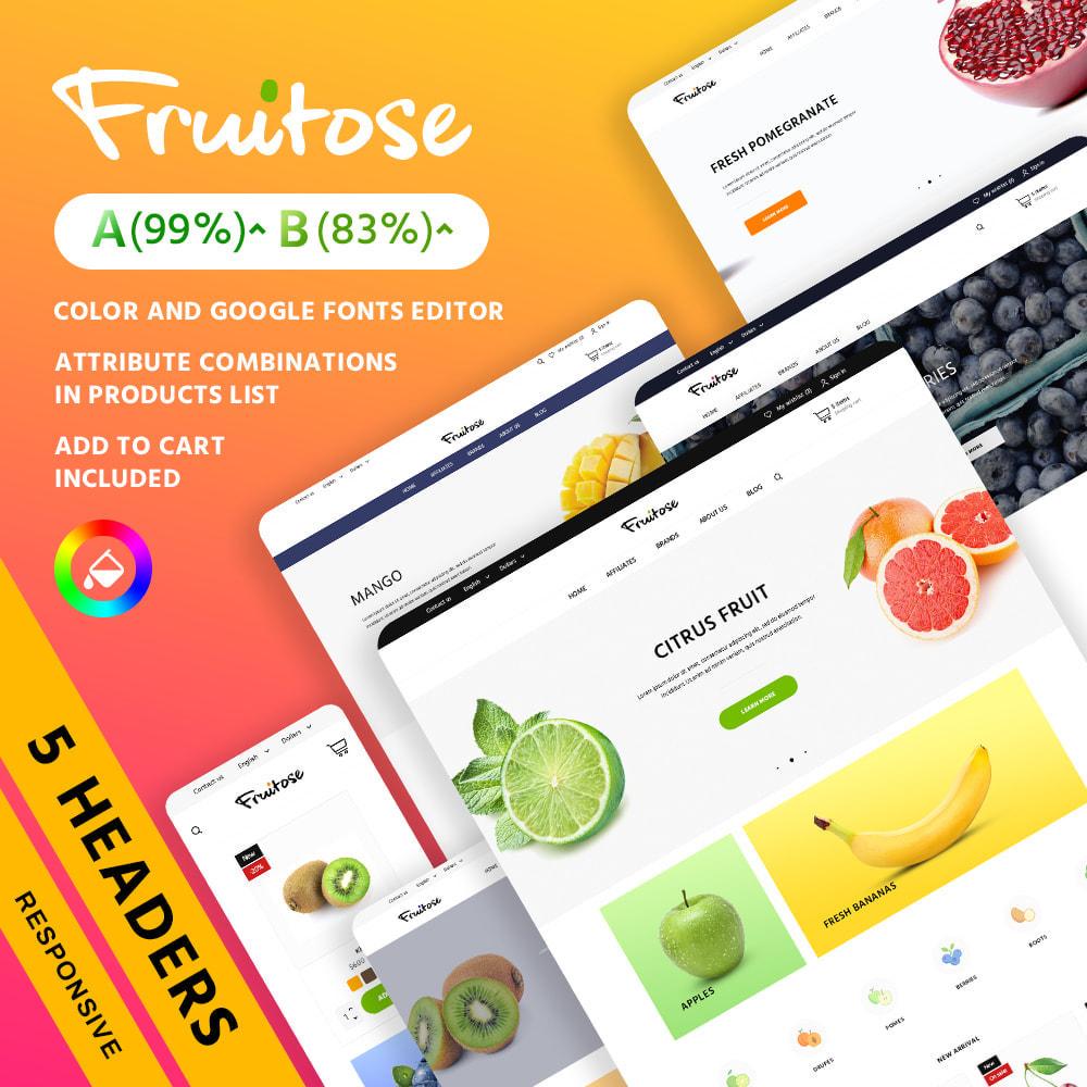 theme - Cibo & Ristorazione - Fruitose - 1