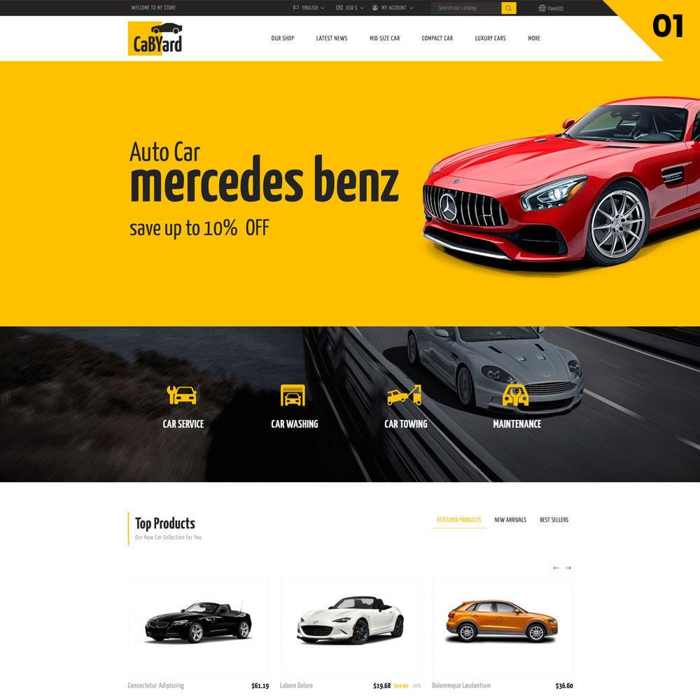 theme - Samochody - Cabyard - The Multishop Car Dealershop - 3